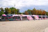 Tram in Vienna — Stock Photo