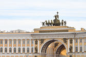 Arch of the General Staff in St. Petersburg, Russia — Stock Photo