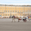Palace Square in St-Petersburg, Russia — Stock Photo #9561025