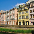 Buildings in Karlovy Vary — Foto de Stock