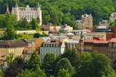 Resort Karlovy Vary, Czech republic — Stock Photo