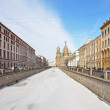 Griboedov Canal in St-Petersburg, Russia — Stock Photo #9639243
