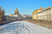 St. Petersburg, Russia, in the winter — Stock Photo
