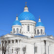 The Trinity Cathedral in St-Petersburg, Russia — Stock Photo
