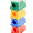 Sharpeners colour. On a white background. — Stock Photo