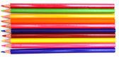 Kleur potloden op een witte achtergrond. — Stockfoto