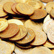 Gold coins. — Stock Photo