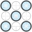 Royalty-Free Stock Vector Image: Crosshairs