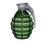 Grenade — Stock Vector
