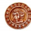 Mayan calendar isolated — Stock Photo #10709226