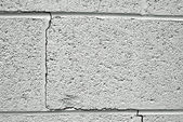 Crack in concrete — Stock Photo
