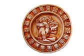 Mayan calendar isolated — Stock Photo