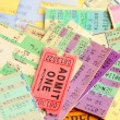 Stock Photo: Ticket stubs