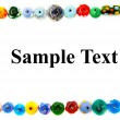 Stock Photo: Glass beads