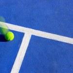 Tennis ball motion — Stock Photo #9319225