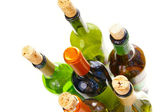 Wine bottles — Stockfoto