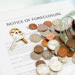 Bank foreclosure — Stock Photo #9320444