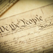 Stock Photo: U.S. Constitution
