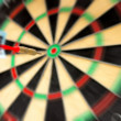 Bulls-eye — Stock Photo