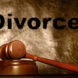 Stock Photo: Divorce concept