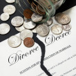 Divorce decree - Stock Photo