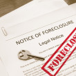 Home foreclosure — Stock Photo #9322685