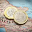 Euro coins — Stock Photo #9324021