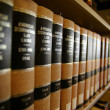 Law books - Stock Photo