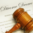 Divorce papers — Stock Photo #9327383