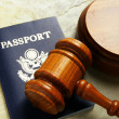 Stock Photo: US passport
