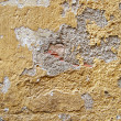 Peeling paint on old cement texture — Stock Photo