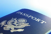 U.S. passport — Stock Photo