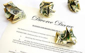 Divorce decree — Stock Photo