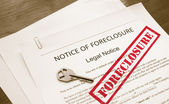 Home foreclosure — Stock Photo