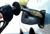 High gas prices — Stock Photo