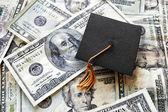 Mini graduation cap — Stock Photo