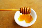 Goteo de la miel — Foto de Stock