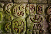Mayan hieroglyphics — Stock Photo