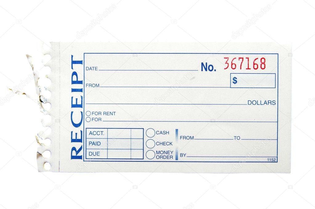Paper receipt — Stock Photo © zimmytws #9327987