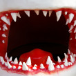 Shark mouth - Stock Photo