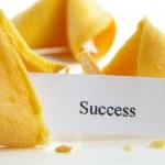 """""""Success"""" fortune cookie — ストック写真"""