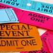 Ticket stubs — Stock Photo #9339117