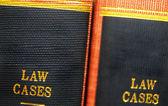 Lawbooks — Stock Photo