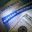 Money and Social Security — Stock Photo #9948105