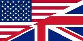 American and British English — Stock Vector