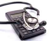 Medical accounting — Stock Photo