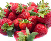 Bundle of Strawberries — Stock Photo
