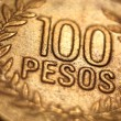 Foreign Money Coin - 100 Pesos — Stock fotografie #9090839