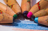 Color Pencils Closeup — Stock Photo