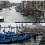 Grand Canal & gondola boats — Stock Photo #10073746